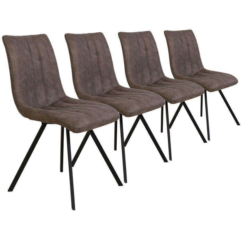 Conjunto 4 Cadeiras Génova