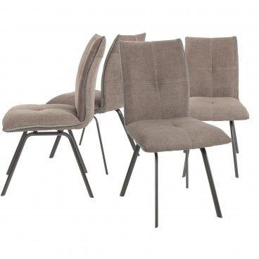 Conjunto 4 Cadeiras Salerno