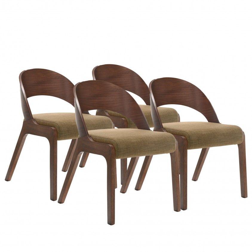 Conjunto 4 Cadeiras Udine