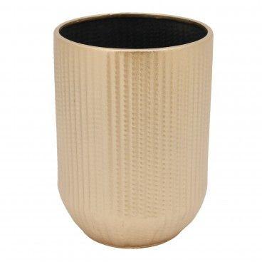 Vaso Metal Dourado