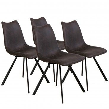 Conjunto 4 Cadeira Nápoles