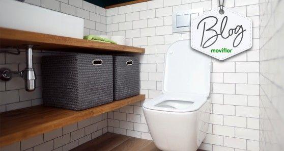 6 ideias de arrumação para ganhar espaço numa casa de banho pequena
