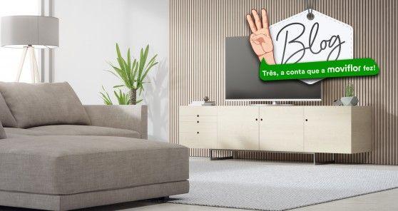 3 Diferentes combinações de tapete, sofá e móvel de TV: o essencial de uma sala de estar