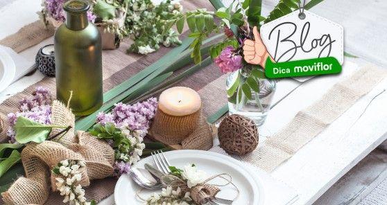 4 dicas Moviflor para decorar a sua Mesa da Páscoa