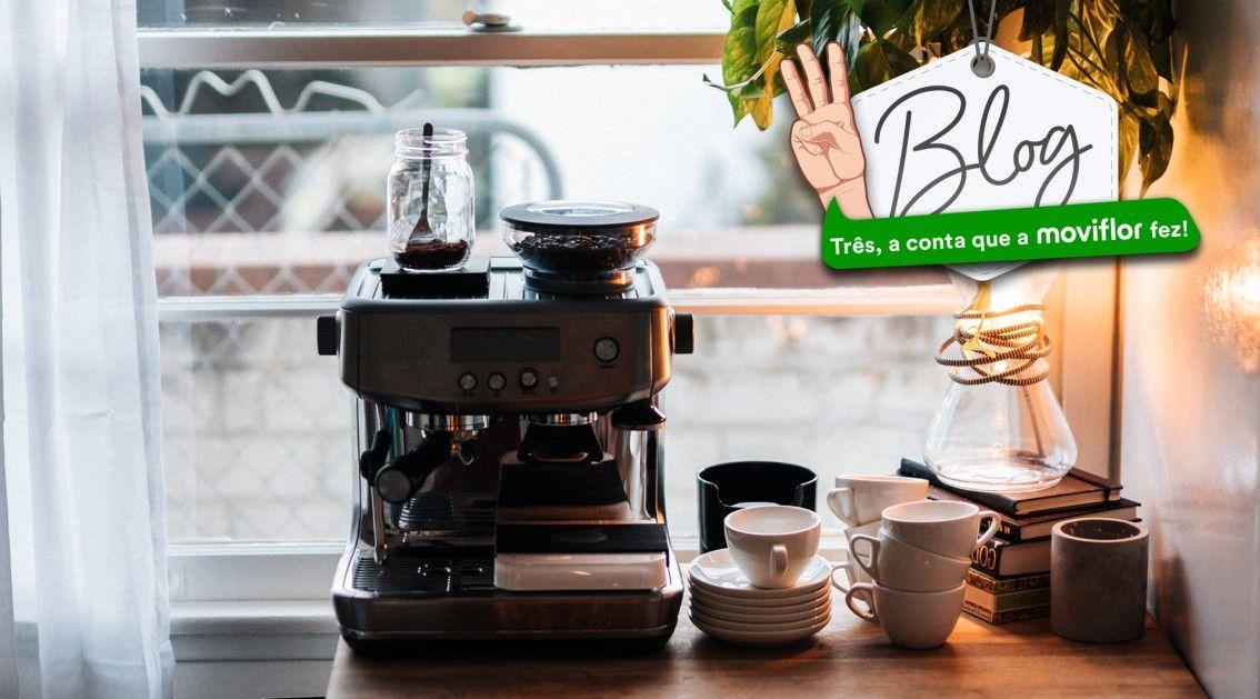 No dia Internacional do Café: 3 móveis para criar o Cantinho do Café em sua casa