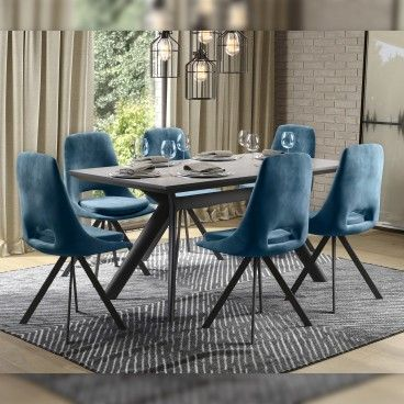 Mesa Nápoles Granito com 4 Cadeiras Imola