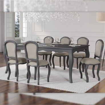 Mesa Murano com 6 Cadeiras