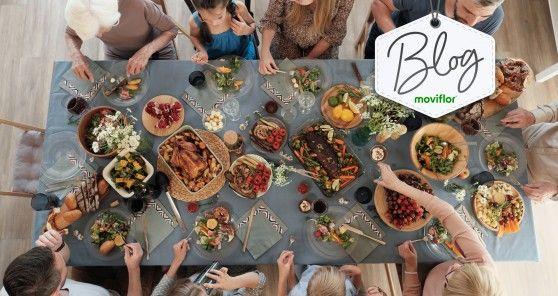 Neste dia da Família: 6 mesas de jantar Moviflor para desfrutar de saborosas refeições com a sua!