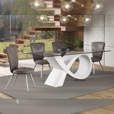 Mesa Bari com 6 Cadeiras Sorrento