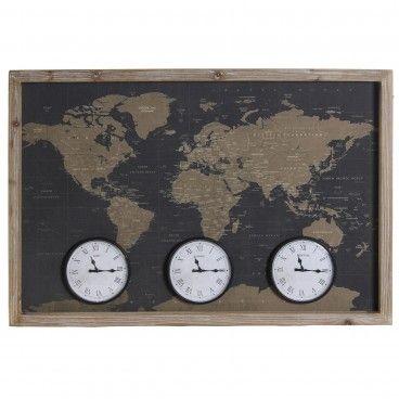 Relógio de Parede Around World