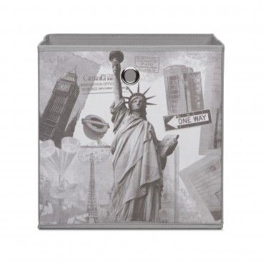 Caixa de Arrumação para Estante Alfa 1 City