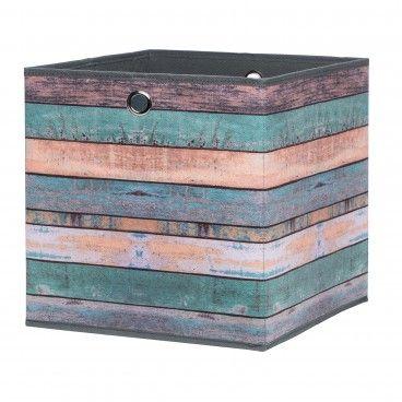 Caixa de Arrumação para Estante Alfa 1 Wood