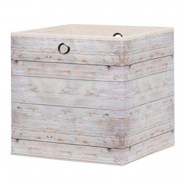 Caixa de Arrumação para Estante Alfa 1 Wood 2