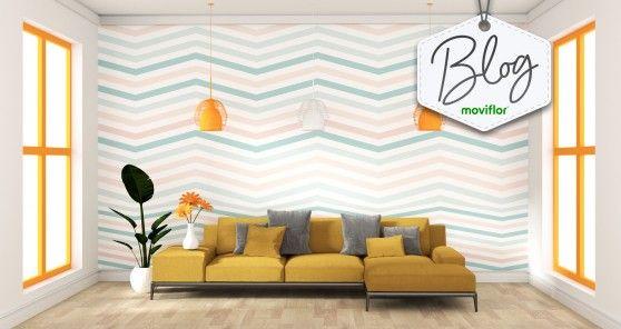 Saiba como transformar a decoração usando papel de parede